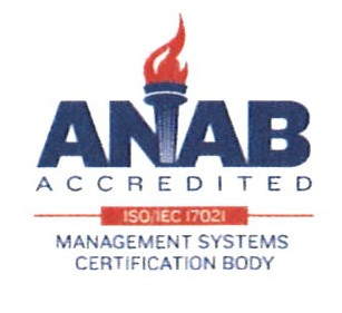 ANAB certified